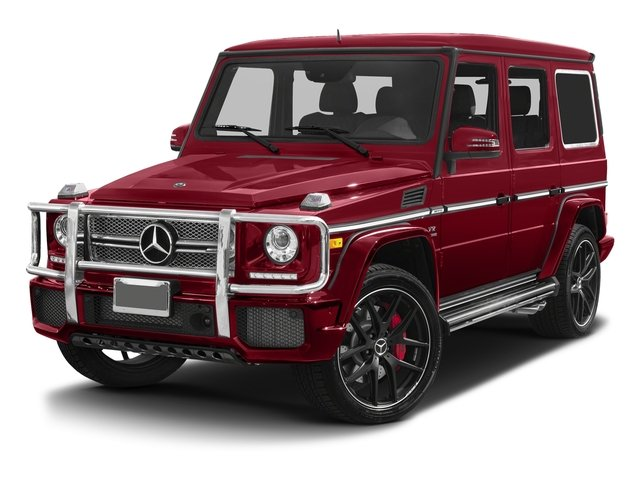 Mars Red 2017 Mercedes-Benz G-Class Pictures G-Class 4 Door Utility 4Matic photos front view