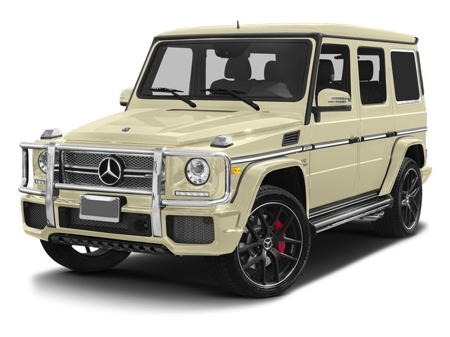Light Ivory 2017 Mercedes-Benz G-Class Pictures G-Class 4 Door Utility 4Matic photos front view