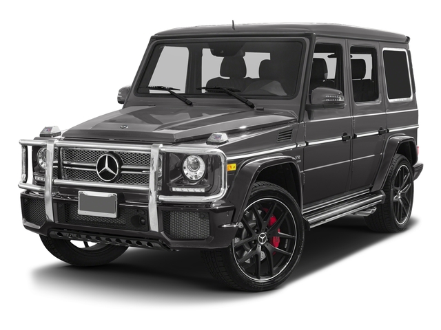 Tectite Grey Metallic 2017 Mercedes-Benz G-Class Pictures G-Class AMG G 65 4MATIC SUV photos front view