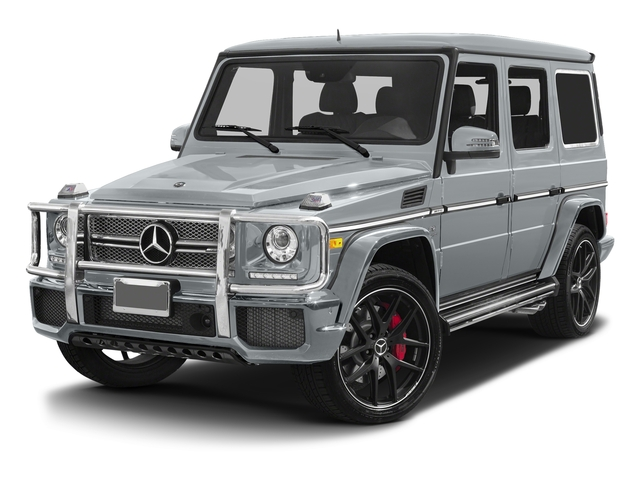 Diamond Silver Metallic 2017 Mercedes-Benz G-Class Pictures G-Class AMG G 65 4MATIC SUV photos front view