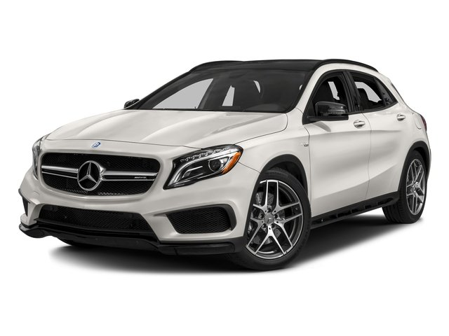 Cirrus White 2017 Mercedes-Benz GLA Pictures GLA AMG GLA 45 4MATIC SUV photos front view