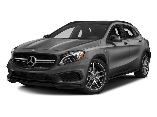 designo Mountain Grey Magno (Matte Finish) 2017 Mercedes-Benz GLA Pictures GLA Utility 4D GLA45 AMG AWD I4 Turbo photos front view