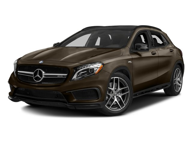 Cocoa Brown Metallic 2017 Mercedes-Benz GLA Pictures GLA AMG GLA 45 4MATIC SUV photos front view