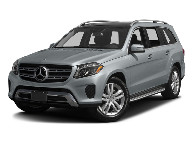 Diamond Silver Metallic 2017 Mercedes-Benz GLS Pictures GLS Utility 4D GLS450 AWD V6 Turbo photos front view