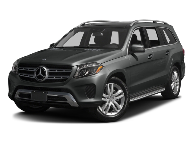 Selenite Grey 2017 Mercedes-Benz GLS Pictures GLS Utility 4D GLS450 AWD V6 Turbo photos front view