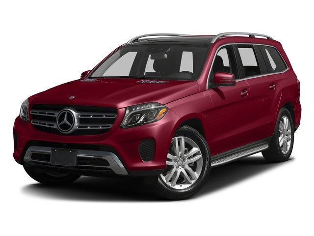 designo Cardinal Red Metallic 2017 Mercedes-Benz GLS Pictures GLS Utility 4D GLS450 AWD V6 Turbo photos front view