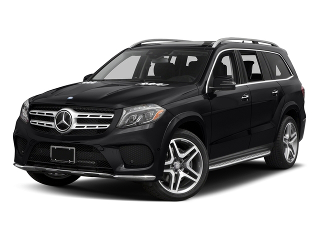 Black 2017 Mercedes-Benz GLS Pictures GLS Utility 4D GLS550 AWD V8 Turbo photos front view