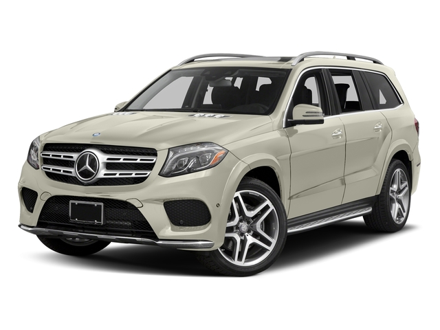 Polar White 2017 Mercedes-Benz GLS Pictures GLS Utility 4D GLS550 AWD V8 Turbo photos front view