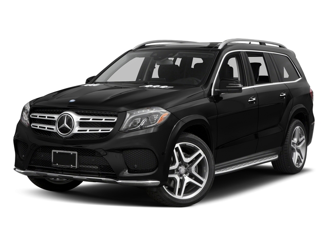 Obsidian Black Metallic 2017 Mercedes-Benz GLS Pictures GLS Utility 4D GLS550 AWD V8 Turbo photos front view