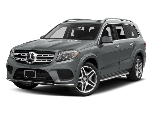 Iridium Silver Metallic 2017 Mercedes-Benz GLS Pictures GLS Utility 4D GLS550 AWD V8 Turbo photos front view