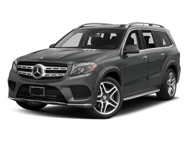Palladium Silver Metallic 2017 Mercedes-Benz GLS Pictures GLS Utility 4D GLS550 AWD V8 Turbo photos front view