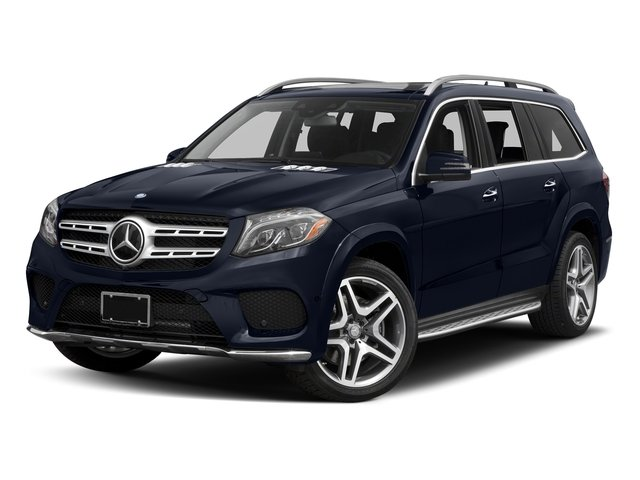Lunar Blue Metallic 2017 Mercedes-Benz GLS Pictures GLS Utility 4D GLS550 AWD V8 Turbo photos front view