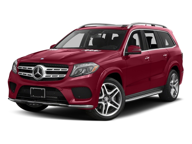 designo Cardinal Red Metallic 2017 Mercedes-Benz GLS Pictures GLS Utility 4D GLS550 AWD V8 Turbo photos front view