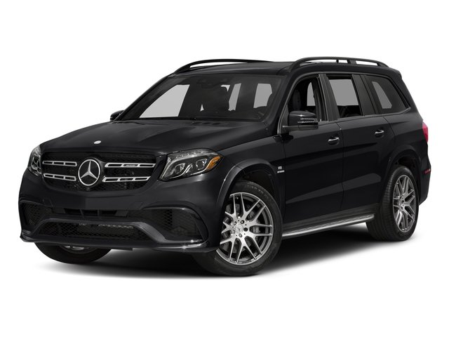 Black 2017 Mercedes-Benz GLS Pictures GLS Utility 4D GLS63 AMG AWD V8 Turbo photos front view