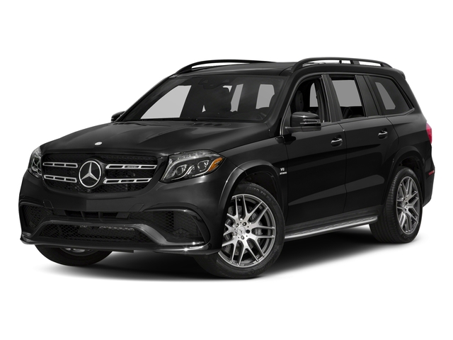 Obsidian Black Metallic 2017 Mercedes-Benz GLS Pictures GLS Utility 4D GLS63 AMG AWD V8 Turbo photos front view