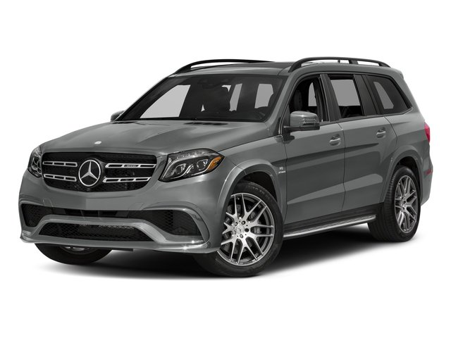 Palladium Silver Metallic 2017 Mercedes-Benz GLS Pictures GLS Utility 4D GLS63 AMG AWD V8 Turbo photos front view