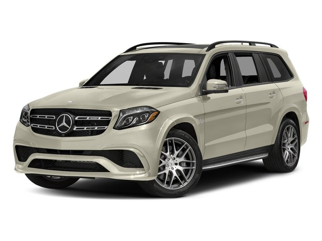 designo Diamond White Metallic 2017 Mercedes-Benz GLS Pictures GLS Utility 4D GLS63 AMG AWD V8 Turbo photos front view