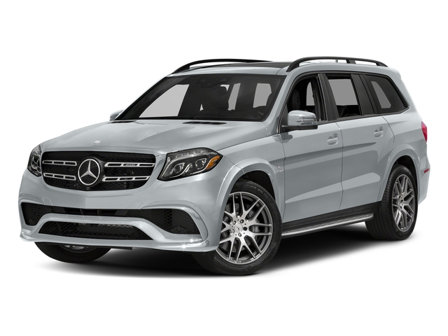 Diamond Silver Metallic 2017 Mercedes-Benz GLS Pictures GLS Utility 4D GLS63 AMG AWD V8 Turbo photos front view