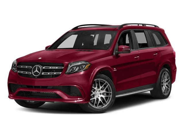 designo Cardinal Red Metallic 2017 Mercedes-Benz GLS Pictures GLS Utility 4D GLS63 AMG AWD V8 Turbo photos front view