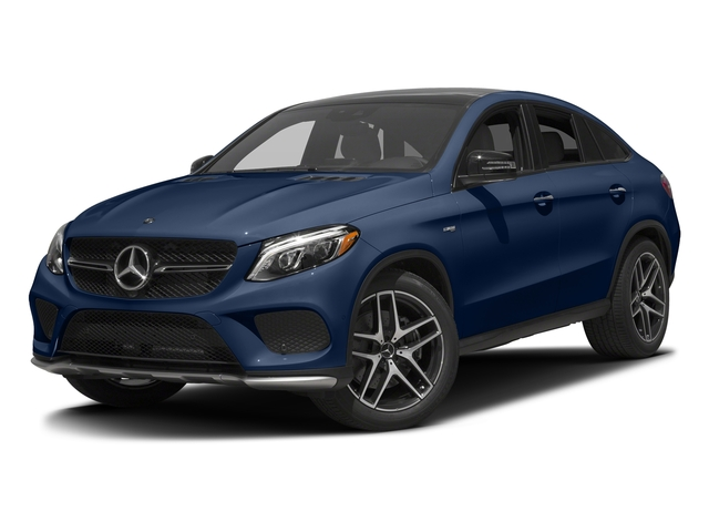 Brilliant Blue Metallic 2017 Mercedes-Benz GLE Pictures GLE Utility 4D GLE43 AMG Sport Cpoe AWD photos front view