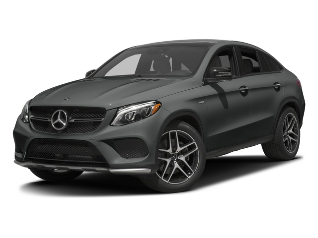 Selenite Grey Metallic 2017 Mercedes-Benz GLE Pictures GLE Utility 4D GLE43 AMG Sport Cpoe AWD photos front view