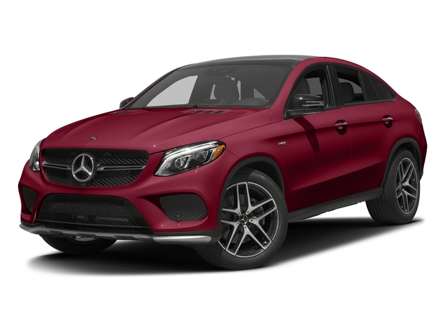 designo Cardinal Red Metallic 2017 Mercedes-Benz GLE Pictures GLE Utility 4D GLE43 AMG Sport Cpoe AWD photos front view