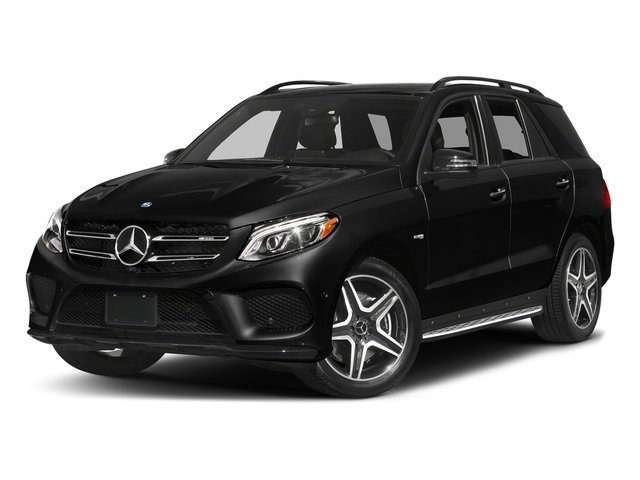Obsidian Black Metallic 2017 Mercedes-Benz GLE Pictures GLE AMG GLE 43 4MATIC SUV photos front view