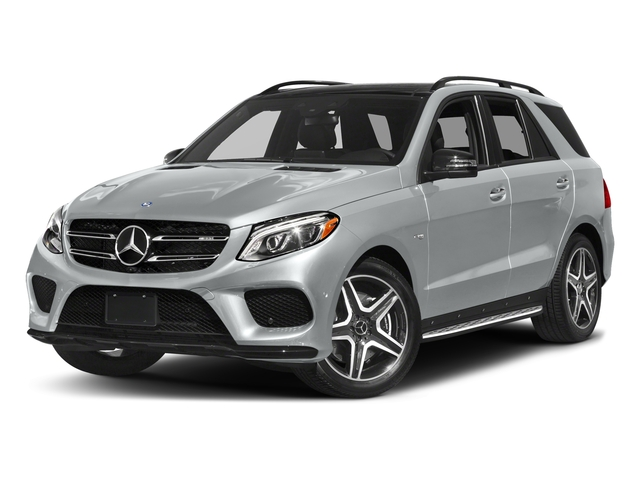 Iridium Silver Metallic 2017 Mercedes-Benz GLE Pictures GLE AMG GLE 43 4MATIC SUV photos front view