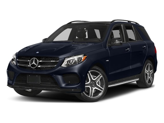 Lunar Blue Metallic 2017 Mercedes-Benz GLE Pictures GLE AMG GLE 43 4MATIC SUV photos front view