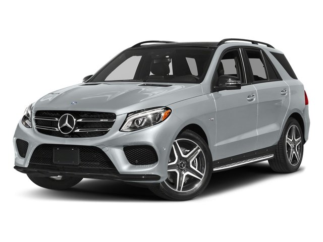 Diamond Silver Metallic 2017 Mercedes-Benz GLE Pictures GLE AMG GLE 43 4MATIC SUV photos front view
