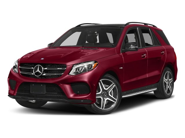 designo Cardinal Red Metallic 2017 Mercedes-Benz GLE Pictures GLE AMG GLE 43 4MATIC SUV photos front view