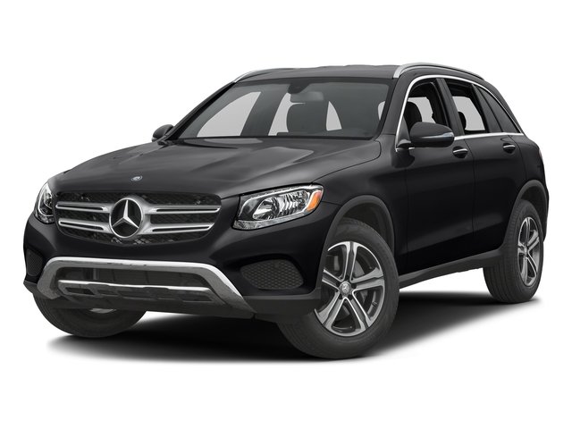 Black 2017 Mercedes-Benz GLC Pictures GLC GLC 300 4MATIC SUV photos front view