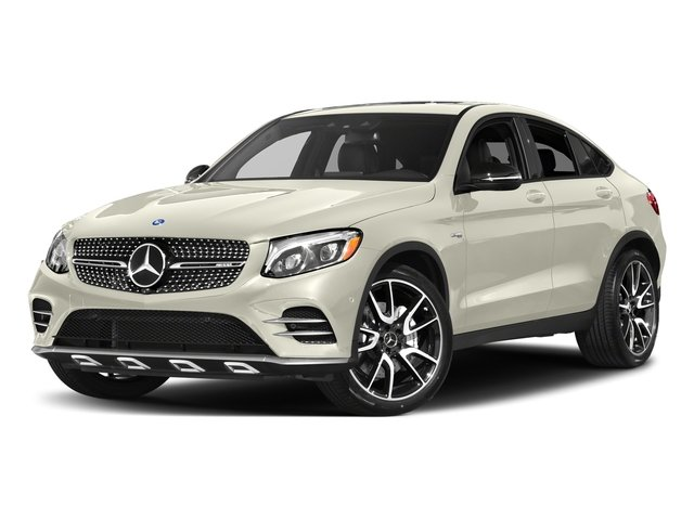 Polar White 2017 Mercedes-Benz GLC Pictures GLC Util 4D GLC43 AMG Sport Coupe AWD V6 photos front view