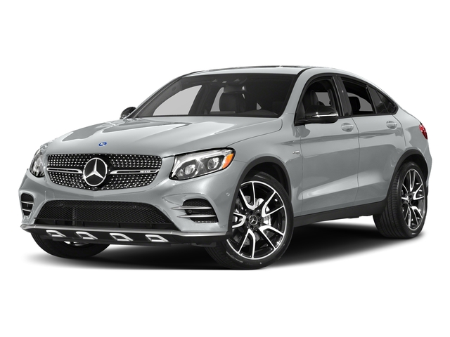 Iridium Silver Metallic 2017 Mercedes-Benz GLC Pictures GLC Util 4D GLC43 AMG Sport Coupe AWD V6 photos front view
