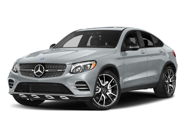 Diamond Silver Metallic 2017 Mercedes-Benz GLC Pictures GLC Util 4D GLC43 AMG Sport Coupe AWD V6 photos front view