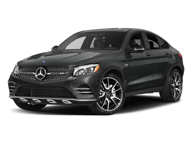 Selenite Grey Metallic 2017 Mercedes-Benz GLC Pictures GLC Util 4D GLC43 AMG Sport Coupe AWD V6 photos front view