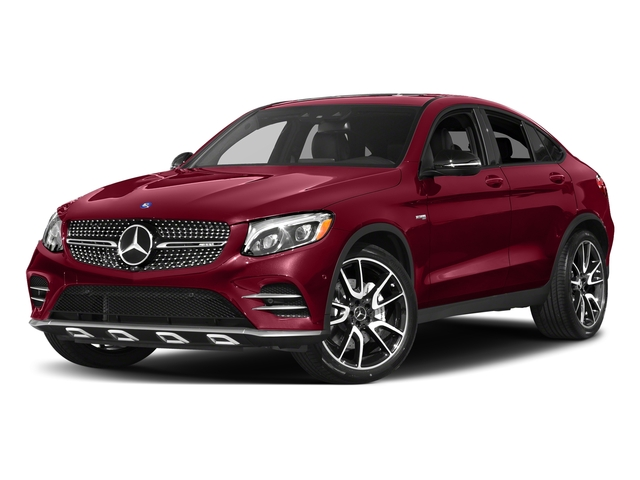 designo Cardinal Red Metallic 2017 Mercedes-Benz GLC Pictures GLC Util 4D GLC43 AMG Sport Coupe AWD V6 photos front view