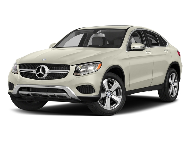 Polar White 2017 Mercedes-Benz GLC Pictures GLC Util 4D GLC300 Sport Coupe AWD I4 photos front view