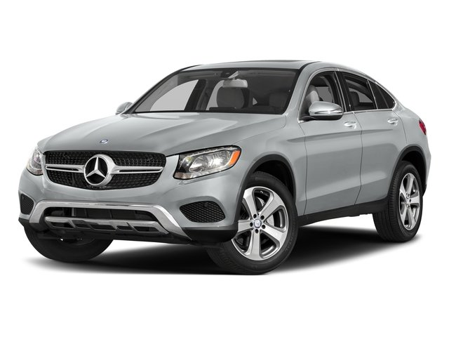 Iridium Silver Metallic 2017 Mercedes-Benz GLC Pictures GLC Util 4D GLC300 Sport Coupe AWD I4 photos front view