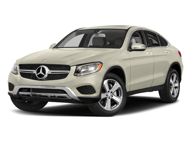 designo Diamond White Metallic 2017 Mercedes-Benz GLC Pictures GLC Util 4D GLC300 Sport Coupe AWD I4 photos front view