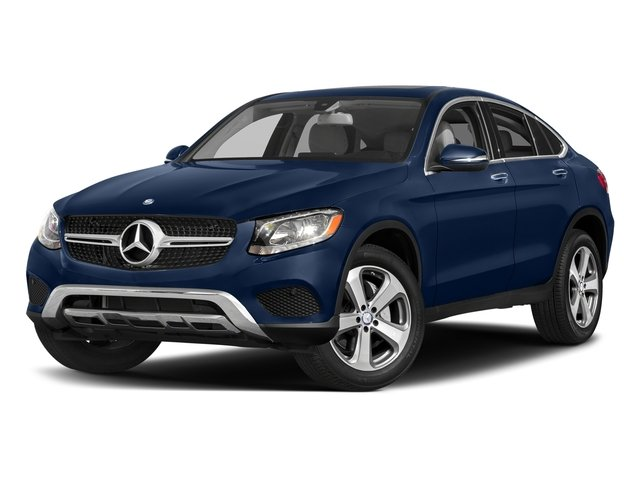 Brilliant Blue Metallic 2017 Mercedes-Benz GLC Pictures GLC Util 4D GLC300 Sport Coupe AWD I4 photos front view