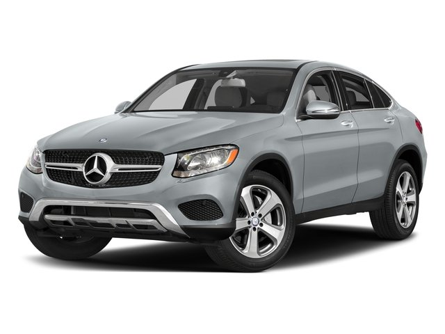 Diamond Silver Metallic 2017 Mercedes-Benz GLC Pictures GLC Util 4D GLC300 Sport Coupe AWD I4 photos front view
