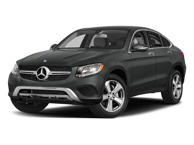 Selenite Grey Metallic 2017 Mercedes-Benz GLC Pictures GLC Util 4D GLC300 Sport Coupe AWD I4 photos front view