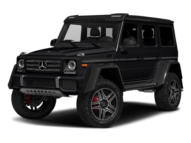 Black 2017 Mercedes-Benz G-Class Pictures G-Class G 550 4x4 Squared SUV photos front view