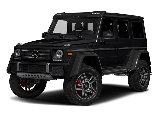 Black Opal Metallic 2017 Mercedes-Benz G-Class Pictures G-Class G 550 4x4 Squared SUV photos front view