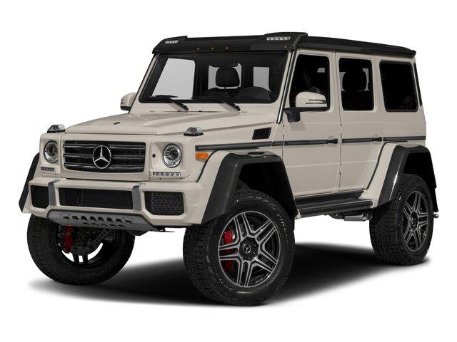 Desert Silver 2017 Mercedes-Benz G-Class Pictures G-Class G 550 4x4 Squared SUV photos front view