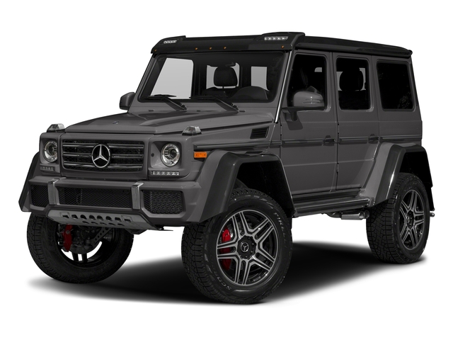 Tectite Grey Metallic 2017 Mercedes-Benz G-Class Pictures G-Class G 550 4x4 Squared SUV photos front view