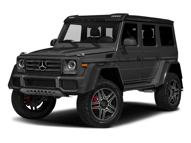 Steel Grey Metallic 2017 Mercedes-Benz G-Class Pictures G-Class G 550 4x4 Squared SUV photos front view