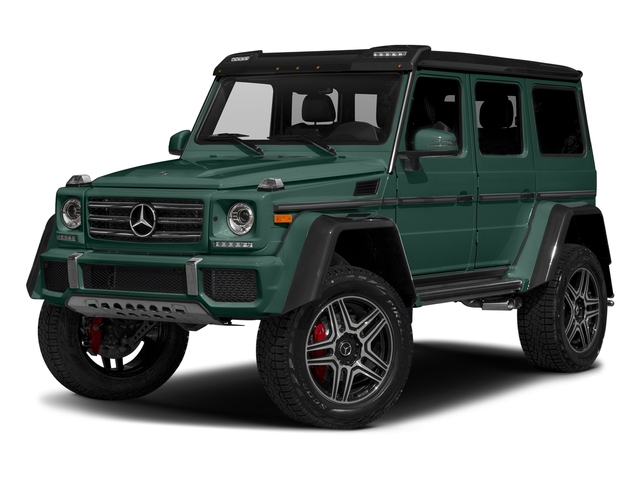 Agate Green 2017 Mercedes-Benz G-Class Pictures G-Class G 550 4x4 Squared SUV photos front view