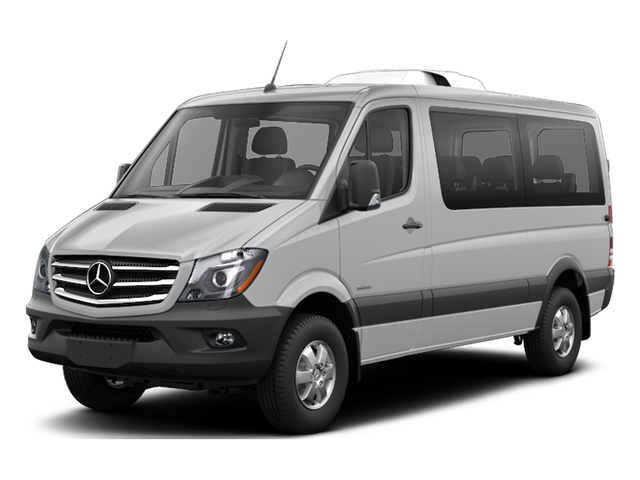Brilliant Silver Metallic 2017 Mercedes-Benz Sprinter Passenger Van Pictures Sprinter Passenger Van 2500 Standard Roof I4 144 RWD photos front view